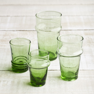 tea-glass-collection-green